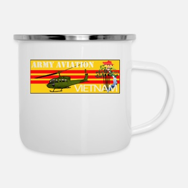 Army Aviation Army Aviation Vietnam - Enamel Mug