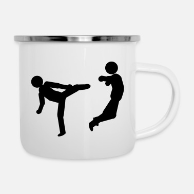 Stick slapping - Enamel Mug