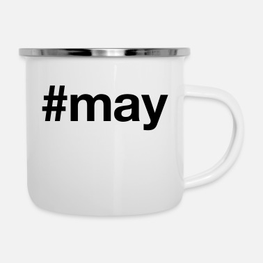 May MAY - Enamel Mug