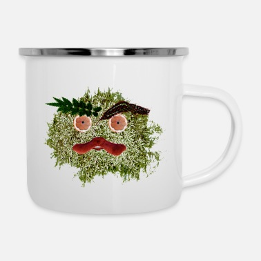 Gobelin Cute Leaf monster - Enamel Mug