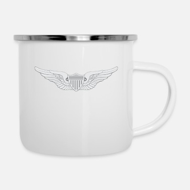 Army Aviation Army Aviator - Enamel Mug