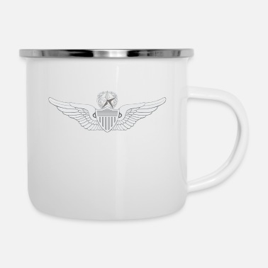 Army Aviation Army Master Aviator - Enamel Mug