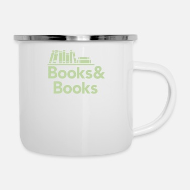 Book Books and books - Enamel Mug
