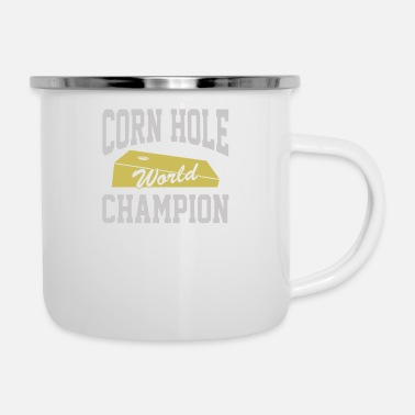 World Champion Corn Hole World Champion - Enamel Mug