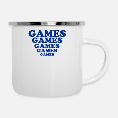Game Games Games Games - Camper Mug