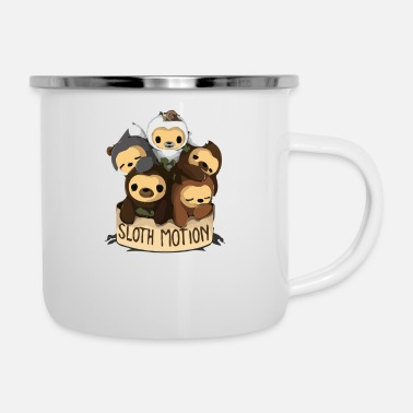 Motion SLOTH MOTION - Enamel Mug