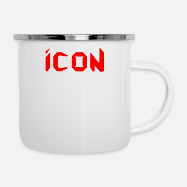 Icon The Icon - Enamel Mug