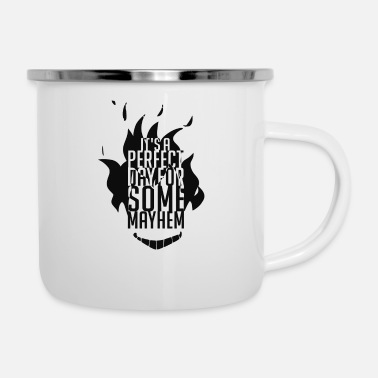 Quotes Couples Junkrat quote - Enamel Mug