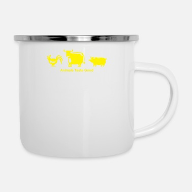 Tastebooster The Animals Taste Good - Enamel Mug