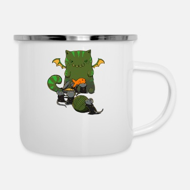 Cult Cult of Cathulhu - Enamel Mug