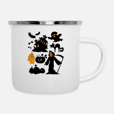 Set Set Of Halloween - Enamel Mug
