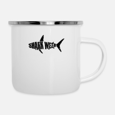 Week shark week - Enamel Mug