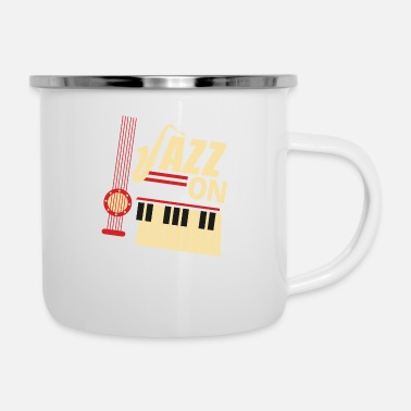 Jazz Jazz On - Camper Mug