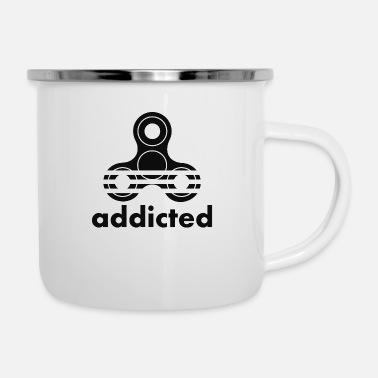 Addicted Addicted - Enamel Mug