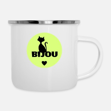 First Name Bijou first name cats name - Camper Mug