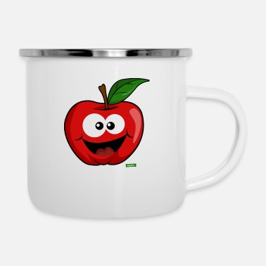 Banana Apple Laughing HARIZ Fruits Children Sweet - Enamel Mug