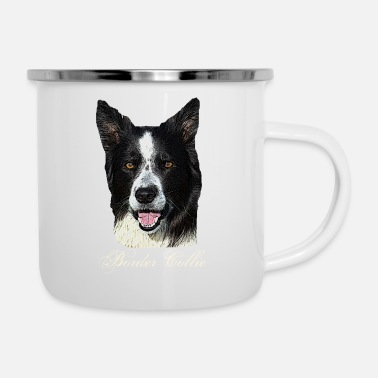 Dog,dog head,dog face,dog breed,doge,dog lover,dog - Enamel Mug