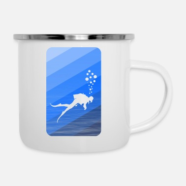 Shield diving sea - Camper Mug