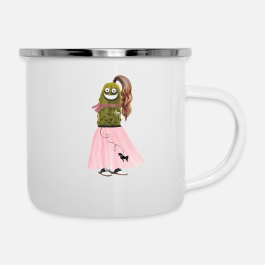 Skirt Poodle Skirt Pickle - Camper Mug