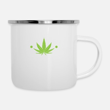 Smoker Plant Manager Marijuana For Chiller Of Weed And - Enamel Mug
