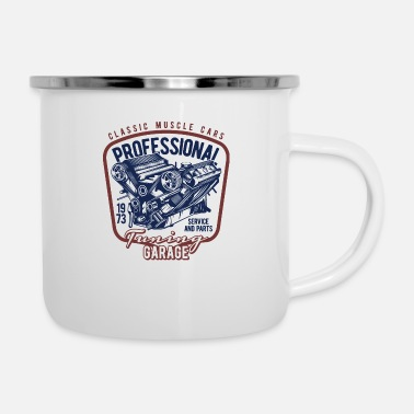 Muscle Car Classic Muscle Cars - Enamel Mug