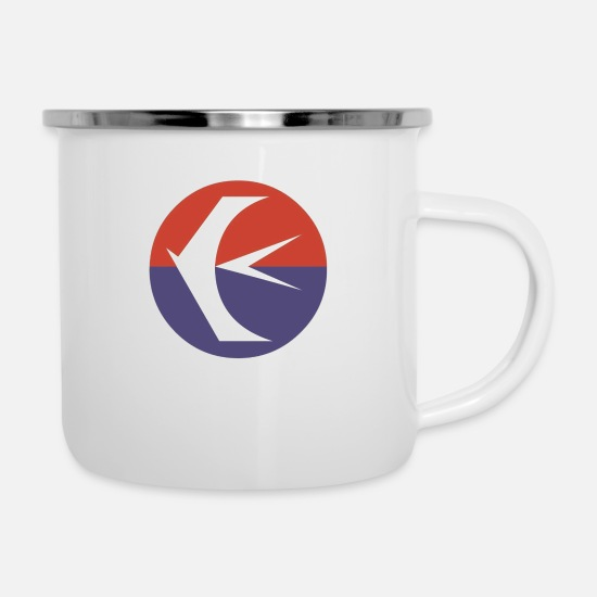 Skies Mugs & Drinkware - China Eastern Logo - Enamel Mug white