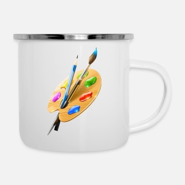 Painter Painter - Enamel Mug