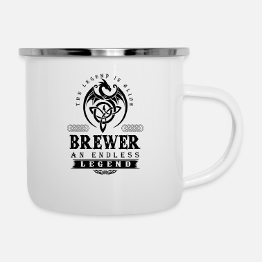 Brewers BREWER - Enamel Mug