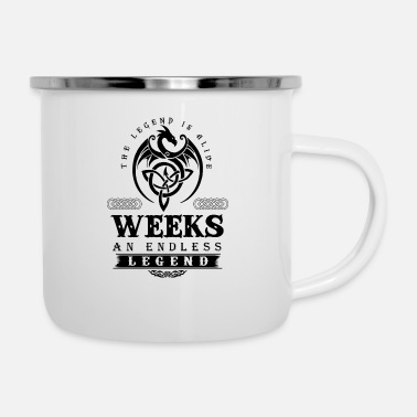 Week WEEKS - Enamel Mug
