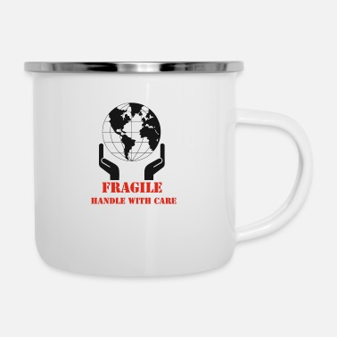 Care earth care - Enamel Mug
