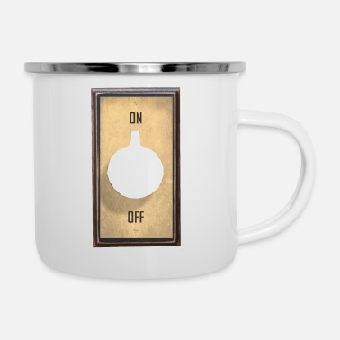 Off on off - Enamel Mug