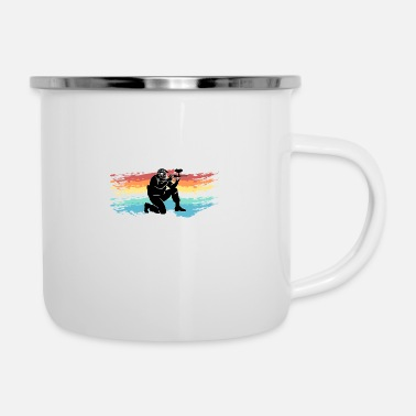 Paintball Paintball - Enamel Mug