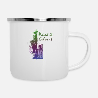Painting Paint it - Enamel Mug