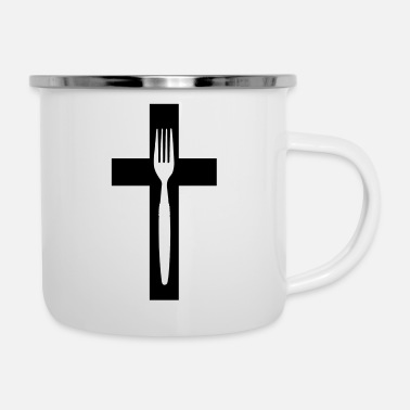 Fork scross and fork - Camper Mug