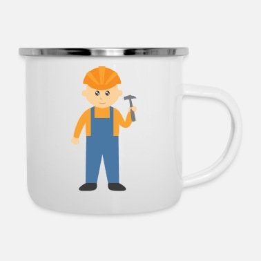 Children builder - Enamel Mug