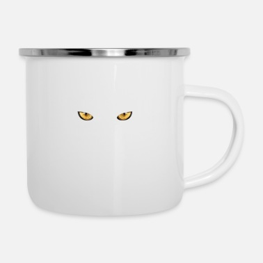 Black Cat Black Cat - Enamel Mug