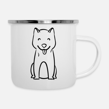 Dog Breed Dog - Dog breed - Enamel Mug