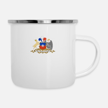 National Coat Of Arms Of Chile - Enamel Mug