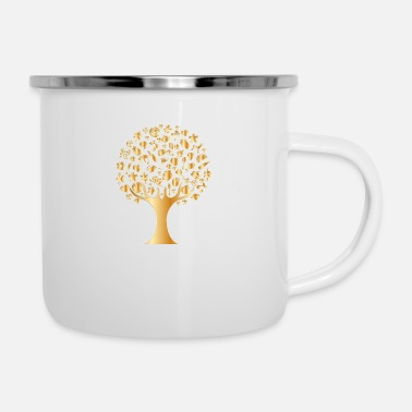 Luxury Luxury Tree - Enamel Mug