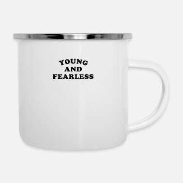 Young Young and Fearless - Camper Mug