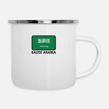 Arabia National Flag Of Saudi Arabia - Camper Mug