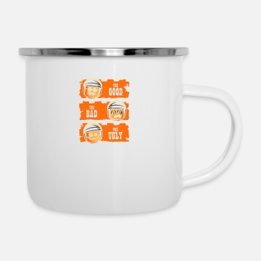 Cop GOOD COP BAD COP UGLY COP - Camper Mug