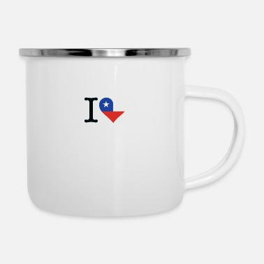 I Love Chile - Enamel Mug
