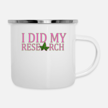 University AKA Research - Enamel Mug