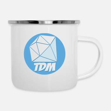 The Diamond DanTDM Logo - Enamel Mug
