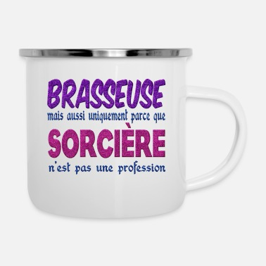 Brewers Sorceress brewer - Enamel Mug