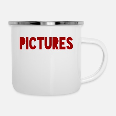 Picture Pictures - Enamel Mug