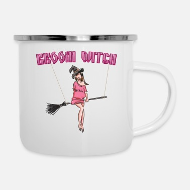 Witches Broom Broom Witch - Camper Mug