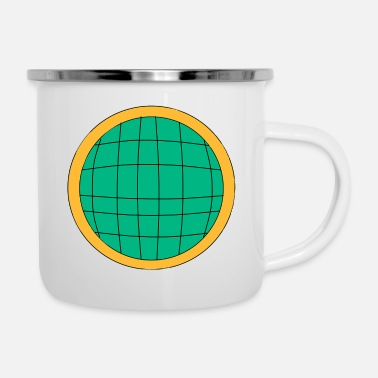 Captain captain planet - Enamel Mug