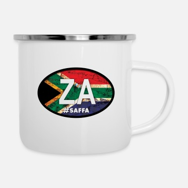 South Africa Country of Origin: South Africa - ZA - Enamel Mug